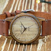 Украшения handmade. Livemaster - original item Wooden watches, women`s watches, walnut, 02I3530WW. Handmade.