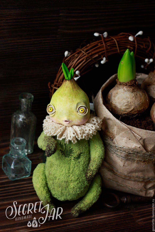Flower chive - Liu, Stuffed Toys, Moscow,  Фото №1