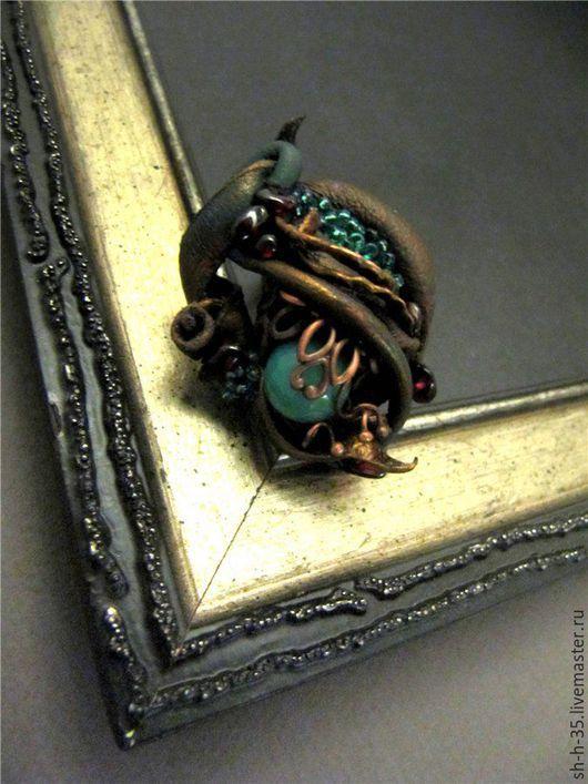 """Кольца ручной работы. Ярмарка Мастеров - ручная работа. Купить Кольцо """"Мадридские тайны"""". Handmade. Комбинированный, кольцо с камнями"""