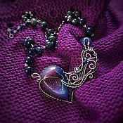 """Украшения ручной работы. Ярмарка Мастеров - ручная работа """"The breath of Aeolus"""" Серебряное ожерелье. Handmade."""