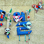 """Для дома и интерьера ручной работы. Ярмарка Мастеров - ручная работа Имя на корейском языке """"Раэль"""". Handmade."""