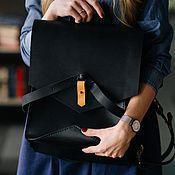 Рюкзаки ручной работы. Ярмарка Мастеров - ручная работа АКЦИЯ !!! Рюкзак Linge ( Кожаный рюкзак, сумка, женская сумка). Handmade.