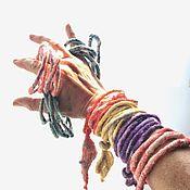 Украшения handmade. Livemaster - original item Coral lace bracelet». Handmade.