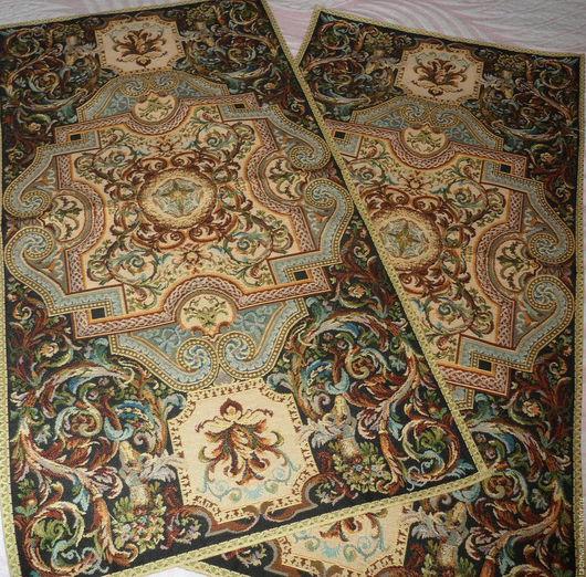 Текстиль, ковры ручной работы. Ярмарка Мастеров - ручная работа. Купить Комплект  гобеленовых дорожек. Handmade. Комбинированный, столешница из гобелена