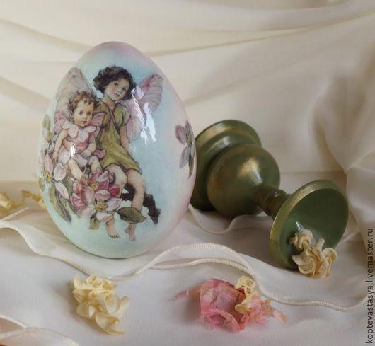 """Подарки на Пасху ручной работы. Ярмарка Мастеров - ручная работа. Купить Пасхальное яйцо """"Яблоневая Фея"""". Handmade. Яйцо"""