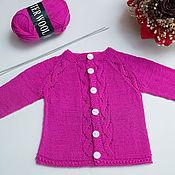 """Работы для детей, ручной работы. Ярмарка Мастеров - ручная работа Кофточка для девочки """"Ассоль"""". Handmade."""