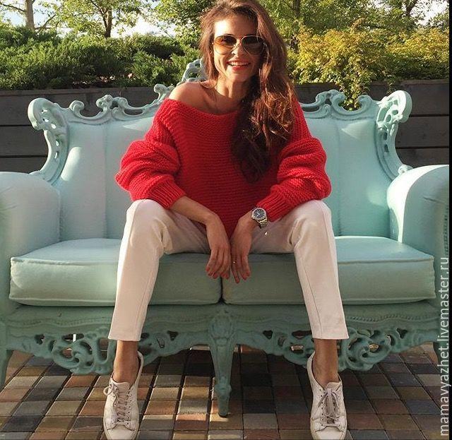 red sweater, Sweaters, Zvenigorod,  Фото №1