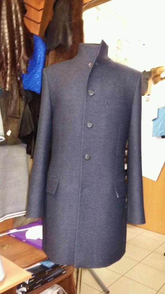 Верхняя одежда ручной работы. Ярмарка Мастеров - ручная работа. Купить Мужское пальто. Handmade. Мужской, пальто, индивидуальный пошив