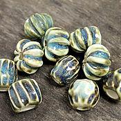 Beads1 manualidades. Livemaster - hecho a mano Beads of faience