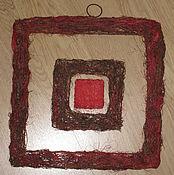 Материалы для творчества ручной работы. Ярмарка Мастеров - ручная работа Рамки (основы) для панно (набор - 3 шт). Handmade.