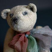 Мишки Тедди ручной работы. Ярмарка Мастеров - ручная работа Мишки Тедди: Лукьян. Handmade.