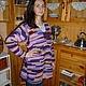 Кофты и свитера ручной работы. Ярмарка Мастеров - ручная работа. Купить Туника в стили бохо. Handmade. Разноцветный, Вязание крючком