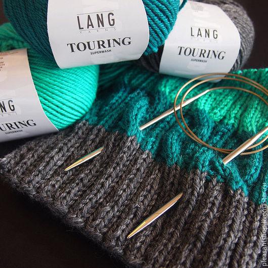 Вязание ручной работы. Ярмарка Мастеров - ручная работа. Купить Набор для вязания шапки Hello Knitty Strickmuetze. Handmade.