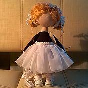 Тыквоголовка ручной работы. Ярмарка Мастеров - ручная работа Кукла Арина-балерина. Handmade.