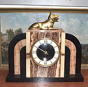 Винтаж handmade. Livemaster - original item Table clock Germany marble 50-ies. Handmade.