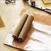 Сувениры и подарки ручной работы. Ярмарка Мастеров - ручная работа Свечи из вощины (набор из 20 штук). Handmade.