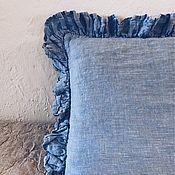 Для дома и интерьера handmade. Livemaster - original item Pillowcase. 100% linen. Softened. Eco.. Handmade.