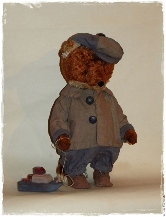 Мишки Тедди ручной работы. Ярмарка Мастеров - ручная работа. Купить Кораблик. Handmade. Рыжий, мишка
