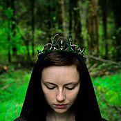 """Украшения ручной работы. Ярмарка Мастеров - ручная работа Корона """"Forest Child"""". Handmade."""