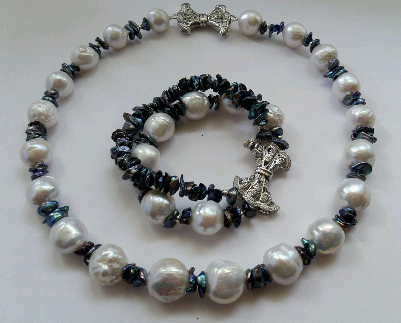 El kit de color blanco perla de kasumi, Jewelry Sets, Lytkarino,  Фото №1