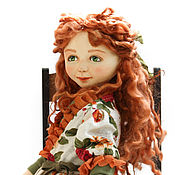 Куклы и игрушки handmade. Livemaster - original item Juliana. Author`s doll is a collectible interior.. Handmade.