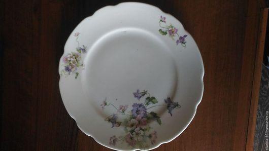 Винтажная посуда. Ярмарка Мастеров - ручная работа. Купить тарелка Германия. фарфор номер. Handmade. Комбинированный