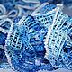 """Шарфы и шарфики ручной работы. Ярмарка Мастеров - ручная работа. Купить Шарфик  """"Голубая мечта"""". Handmade. Шарфик, вязаный шарф"""