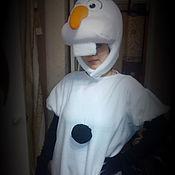 Костюмы ручной работы. Ярмарка Мастеров - ручная работа костюм снеговик олоф. Handmade.