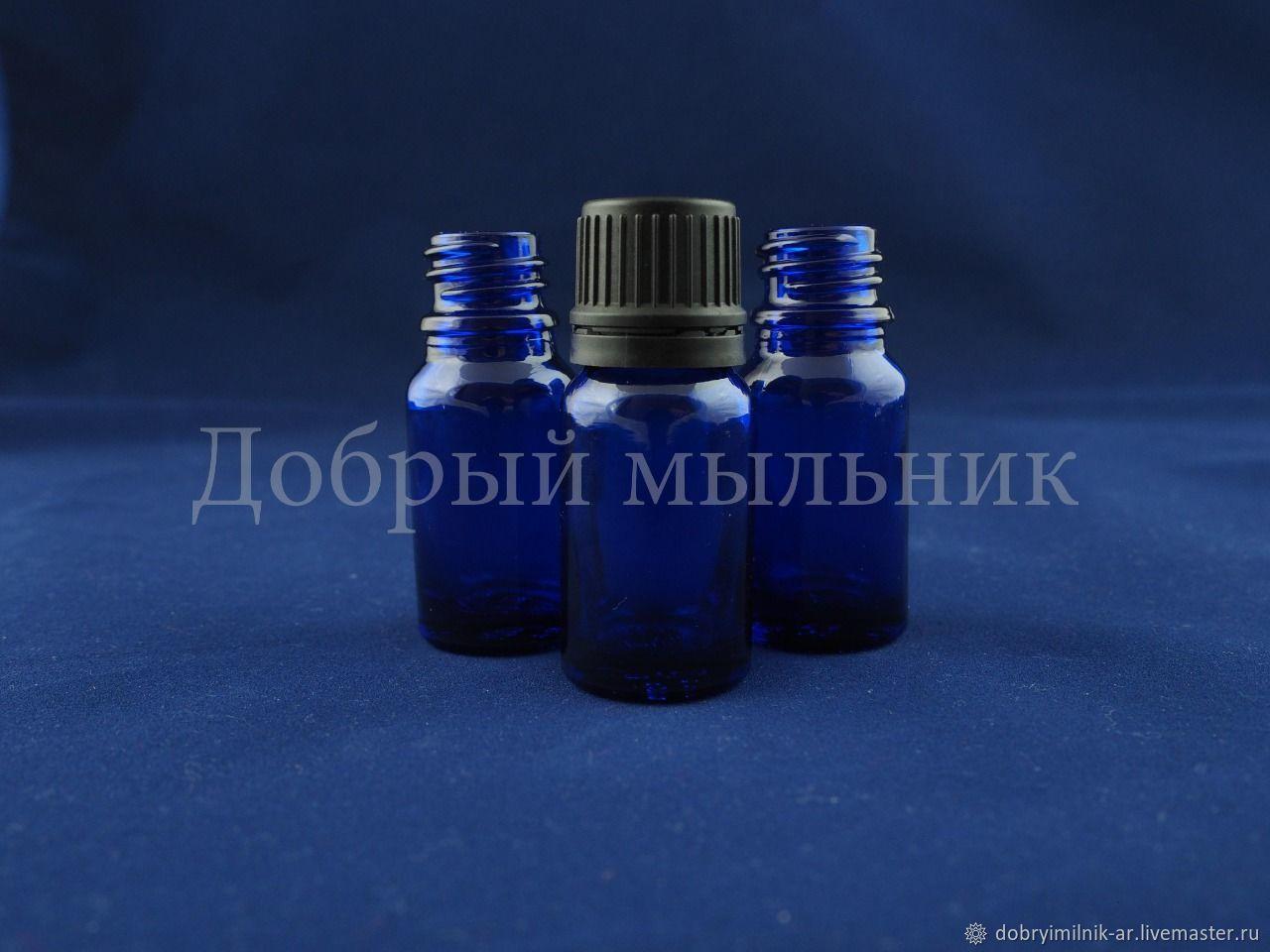 Флакон 5 мл стекло синий, Флаконы, Москва,  Фото №1