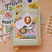 Канцелярские товары handmade. Livemaster - original item Diary for girls. Handmade.