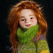 Куклы и игрушки ручной работы. Ярмарка Мастеров - ручная работа Саманта. Авторская войлочная кукла. Handmade.
