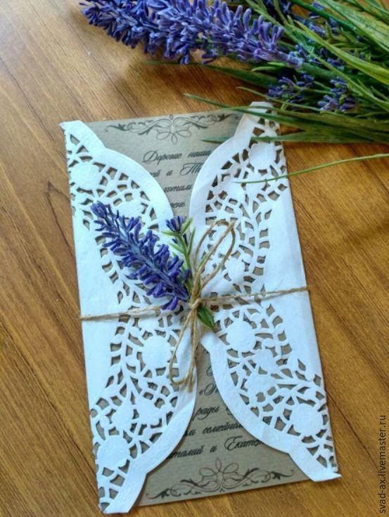 Wedding Invitation in Eco-Style, Invitations, Rostov-on-Don,  Фото №1
