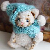 Куклы и игрушки ручной работы. Ярмарка Мастеров - ручная работа Котенок тедди Мурзик. Handmade.