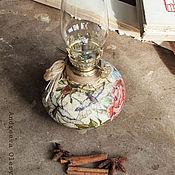 """Для дома и интерьера ручной работы. Ярмарка Мастеров - ручная работа Маслянная лампа """"Летний зной"""". Handmade."""