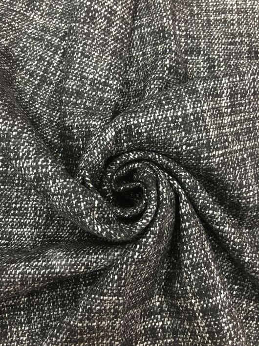 """Шитье ручной работы. Ярмарка Мастеров - ручная работа. Купить Ткань 53301 итальянская шерстяная костюмка """"рогожка"""". Handmade."""