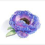 Украшения handmade. Livemaster - original item Poppy silk