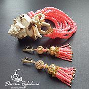 Украшения handmade. Livemaster - original item Jewelry sets: coral