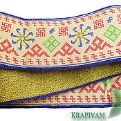 Русский стиль handmade. Livemaster - original item Nettle belt for women`s happiness. At rod.. Handmade.