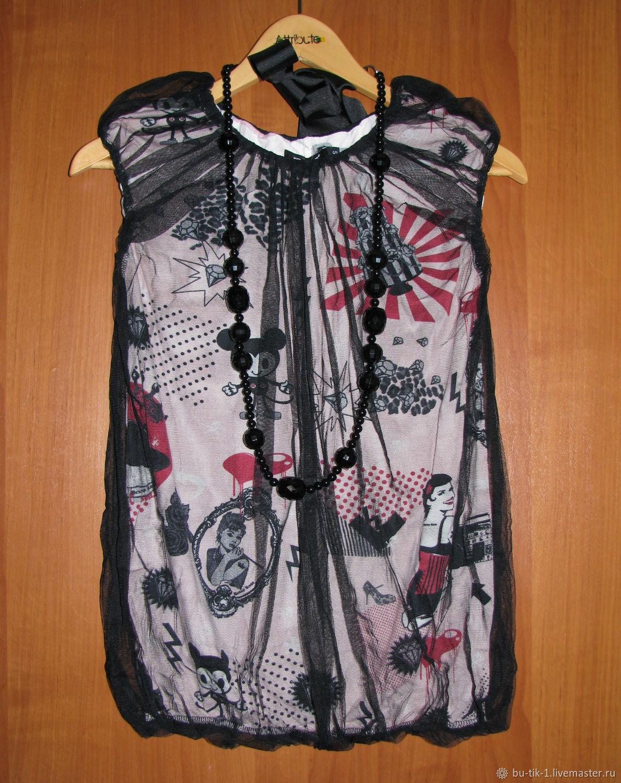Винтаж:  Итальянская красивая кофта блуза Denny Rose новая, Винтажная одежда, Москва,  Фото №1