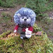 Мягкие игрушки ручной работы. Ярмарка Мастеров - ручная работа Ёжик в лесу. Handmade.