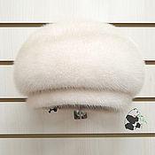 Аксессуары handmade. Livemaster - original item Spectacular mink takes from pearl Finnish mink. Art.SS-12. Handmade.