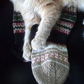Одежда handmade. Livemaster - original item Knitted colorful socks.. Handmade.