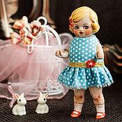 Куклы и игрушки ручной работы. Ярмарка Мастеров - ручная работа Куколка из антикварных деталей Светик. Handmade.