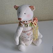 Куклы и игрушки ручной работы. Ярмарка Мастеров - ручная работа мишка_метрики Вареничек. Handmade.