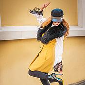 Одежда ручной работы. Ярмарка Мастеров - ручная работа Желтая жилетка. Handmade.