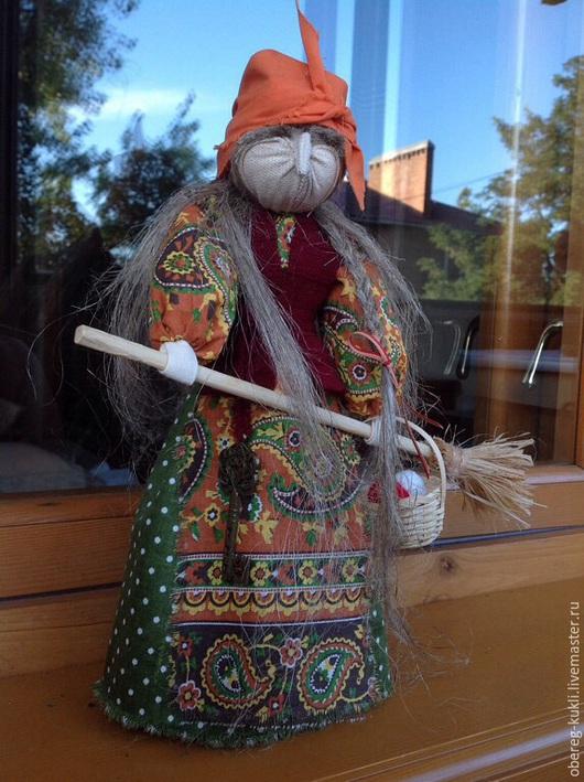 """Обереги, талисманы, амулеты ручной работы. Ярмарка Мастеров - ручная работа. Купить """"Баба Яга"""" по мотивам Народной куклы.. Handmade."""
