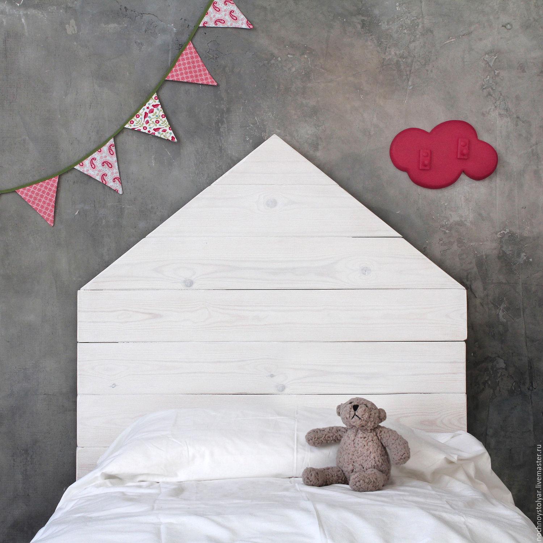 Детская кровать скандинавский домик