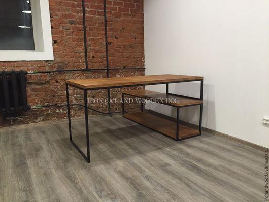 Мебель ручной работы. Ярмарка Мастеров - ручная работа. Купить рабочий стол трансформер. Handmade. Коричневый, мебель на заказ