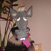Куклы и игрушки ручной работы. Ярмарка Мастеров - ручная работа Конь в пальто. Handmade.