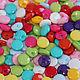 """Шитье ручной работы. Ярмарка Мастеров - ручная работа. Купить Пуговицы пластиковые цветные """"Радуга цвета"""" 9 мм.. Handmade."""